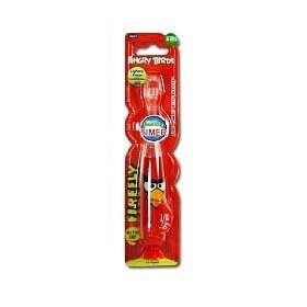 Red Angry Birds Light Up Toothbrush - Angry Birds Toothbrush 4SG