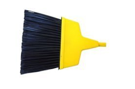Milwaukee Dustless Brush 403110 10 In. Large Angle Housekeeper Broom With 48 In. Handle44; Case Of 24 by Gordon Brush