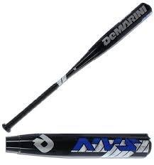 Wilson DeMarini NVS Vexxum Barrel League Baseball Bat, 31'/21 oz, Black/Navy/White