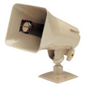 Coaches' & Referees' Gear VALCOM VC-V-1036C 15Watt 1Way Paging Horn Beige White Box Model-VC-V-1036C