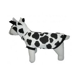 Puppe Love Costumes (Puppe Love Cow Halloween Dog Costume : See description for size)