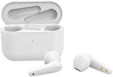 Hybrid Active Noise Cancelling Wireless Earbuds, ANC in Ear Headphones IPX6 Waterproof Bluetooth 5.0 TWS Stereo Earphones, Immersive Sound Premium Deep Bass Headset, Champagne