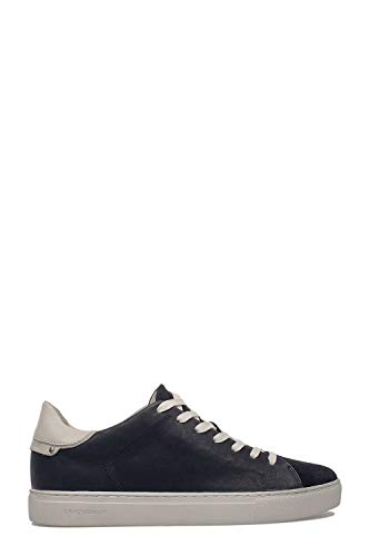 uomo di Crime in blu 11100pp140 pelle Sneakers London da XYpaq