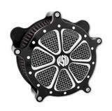 - Roland Sands Design ROLAND SANDS Venturi Air cleaner Speed7 Platinum Cut for Harley-Davidson FLT
