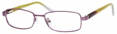 Seventeen 5382 Lavender Lime Designer Reading Glass Frames , Demo Lens