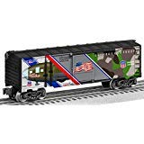 Lionel 685317 Spirit of The Union Pacific Made in USA Boxcar, O Gauge, Gray, black, Brown, Green, Blue, Red
