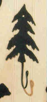 Fir Metal Tree - Fir Tree Iron Hook, Park Designs