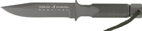 Schrade-SCHF2SM-Small-Extreme-Survival-One-Piece-Drop-Forged-Clip-Point-Fixed-Blade