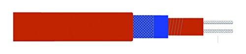 Cinta calefactora de silicona Etherma constante, 230 V, 30 W/m, metros que cortar a la longitud, 27861