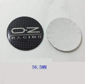 Car Styling 4 45mm 50mm 56 5mm 64 5mm 3d Aluminum Stickers Oz O Z