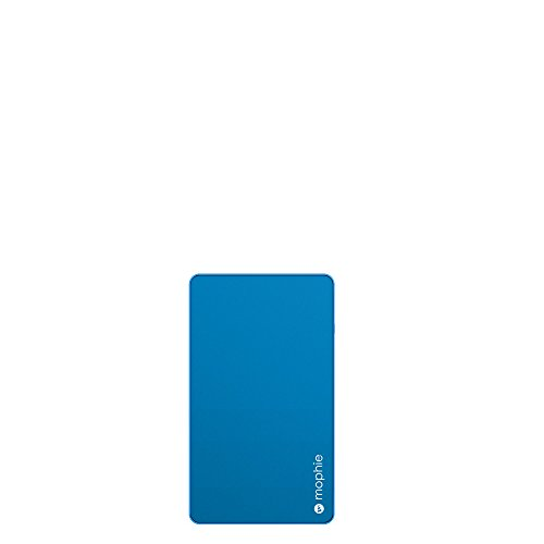 mophie powerstation Mini External Battery for Universal Smartphones and Tablets (3,000mAh) - Blue