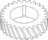 New Crankshaft Timing Gear 43706D Fits CA H, HV