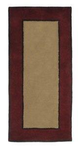 Rectangular Contemporary II 100% Wool Hearth Rug 56