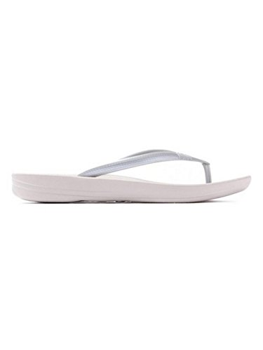 FitFlop IQUSHION ERGONOMIC - Chancla de mujer Silver