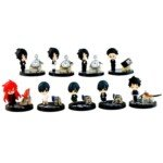 Cute Kuroshitsuji Theme Prop Plus Petit Figure Toy(9-Pack)
