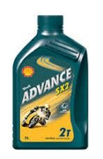 Shell 550027082 Advance Sx 2 Motorcycle 2 Stroke Engine Oil