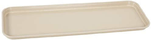 Carlisle 269FG007 Fiberglass Glasteel Solid Display/Bakery Tray, 8.75