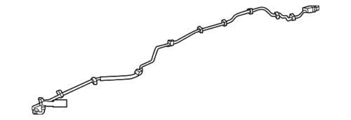 Genuine Mercedes-Benz Feed Line 166-470-22-24