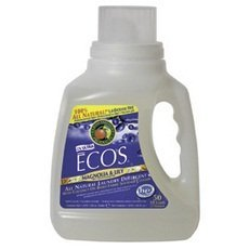 Earth Friendly 2X Ultra Ecos Magnolia and Lilies Laundry Detergent Liquid, 170 Fluid Ounce -- 2 per case. by Earth Friendly Products