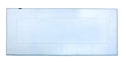 Sky Blue Rug - FABBRICA HOME Ultra-Soft Extra-Thick Memory Foam Runner (2 ft x 5 ft, Sky Blue)