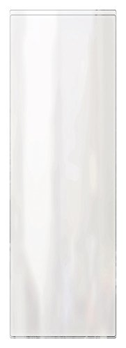 """Risch 100 5.5X17 Heat Sealed Vinyl Menu Cover Single Pocket 2 View, All Clear, 5.5"""" x 17"""" (Pack of 24)"""