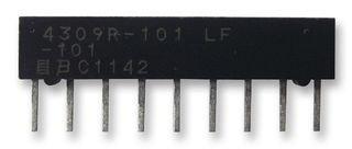 Resistor Networks /& Arrays 9pin 47Kohms Bussed Low Profile 10 pieces