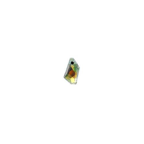 - Swarovski 6670 De Art Pendants, Aurora Borealis, Crystal, 18mm, 2 Per Pack
