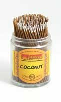 Coconut – Wild Berry Shorties Incense Sticks – 100 B007XU0M94
