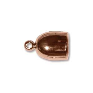 (Copper Plate Bullet End Cap 6mm)