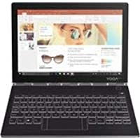 """Lenovo - Yoga Book C930 2-in-1 10.8"""" Touch-Screen Laptop - Intel Core i5 - 4GB Memory - 128GB Solid State Drive - Iron Gray"""