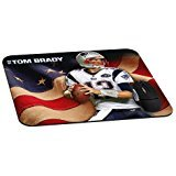 Tom Brady patriot mouse pad Natural Rubber-Rectangle mousepad Gaming and Office mouse pad-mousepads for Gift(8.7x7.1x0.12 Inch)