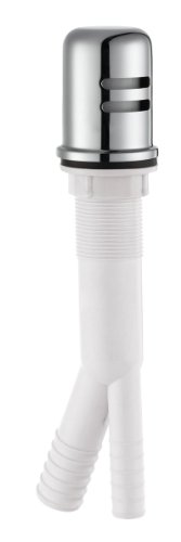 Design House 522946 Dishwasher Air Gap, Polished Chrome Finish
