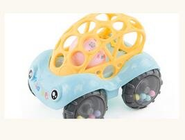 KINGSUNG Soft Rattle Car 6-12 Months Baby Puzzle 0-1-3 Hand Grasping Ball toys(color random) by KINGSUNG (Image #7)