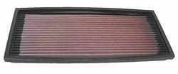 K&N ENGINEERING 33-2078 Air Filter; Panel; H-1.063 in.; L-5.75 in.; W-12.75 in.;
