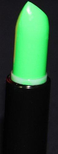 GREEN Neon Black Light UV Lipstick, Cream Stick, Rave Lipstick