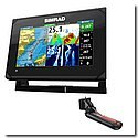 Simrad GO7 XSE Chartplotter/Fishfinder w/TotalScan Transom Mount Transducer