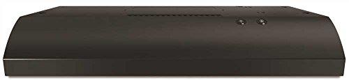 WHIRLPOOL RANGE HOODS 1029940 2-Speed Non-Vented, Built-In Hood And Vent, Black, 120 V