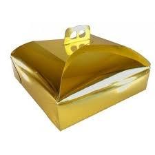 dalbags – unidades 25 caja de torta de cartón – para transportar pasteles, tartas etc