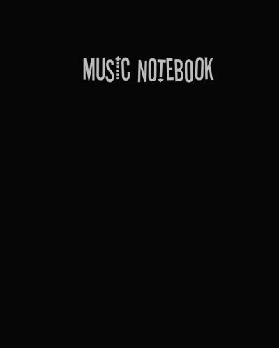 Music Notebook: music notebook 10 staves,Music journal,blank sheet music notebook,Blank Sheet Music Staff Manuscript Paper, 10 Large Staves Per Page, 8.5 x 11 inch 110 page