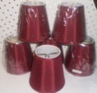 Used, Lamp shades for Chandelier (small) for sale  Delivered anywhere in USA