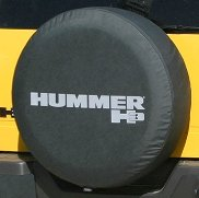 Boomerang 2005-2010 Hummer H3 Soft Tire Cover - Non-reflective - Genuine GM Licensed