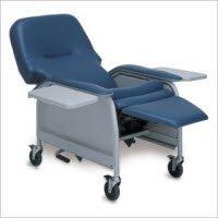 (1173572 Chair Phlebotomy Reclining ImperialBlue Ea Graham-Field/Everest &Jennings -ML10666-IB)