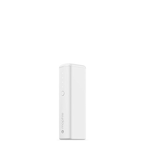 mophie powerstation Boost Mini External Battery for Universal Smartphones and Tablets (2,600mAh) - White