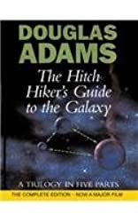 [ THE HITCH HIKER'S GUIDE TO THE GALAXY A TRILOGY IN FOUR PARTS BY ADAMS, DOUGLAS](AUTHOR)HARDBACK