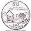 Iowa Quarters - 2004-P U.S. Washington Quarter - IOWA