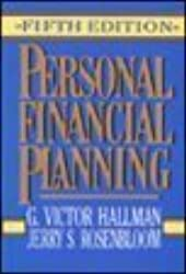 Personal Financial Planning by G. Victor Hallman (1992-12-30)