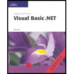 Programming with Microsoft Visual Basic .NET, Zak, Diane, 0619239190