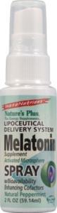 Nature's Plus - Melatonin Spray, 2 fl oz (Melatonin Plus Vitamin)