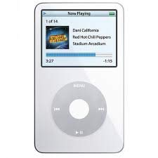 Apple iPod Classic Video 60GB White 5th Generation - Discontinued by Manufacturer Comes with Generic Ear pods Wall Plug and Charging Wire Packaged in White Box