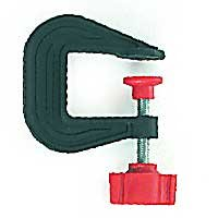 Zona 37-215 Small Plastic C-Clamp, 5/8-Inch Maximum Opening
